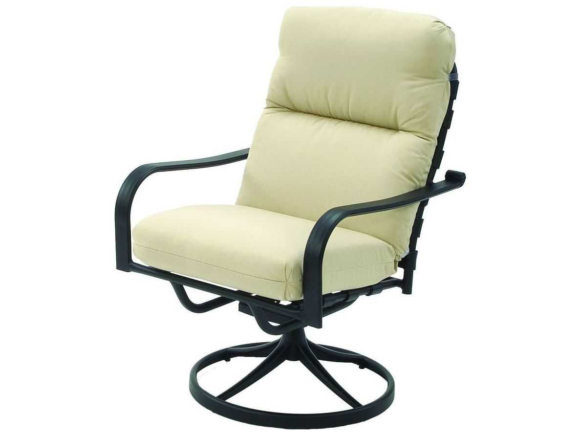 Patio Chair Swivel Fire Chat Pit