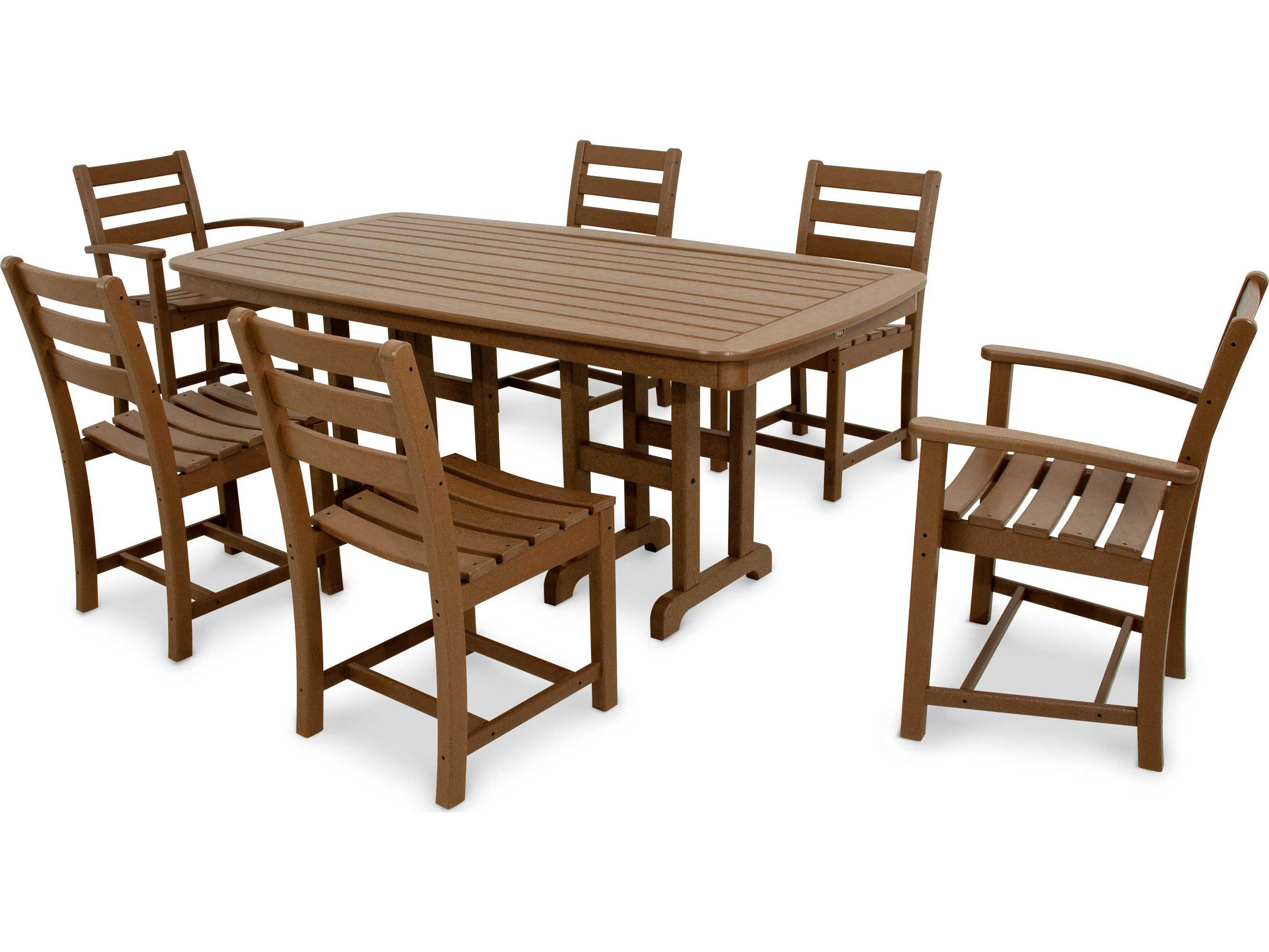 Trex® Monterey Bay Recycled Plastic 7-Piece Dining Set