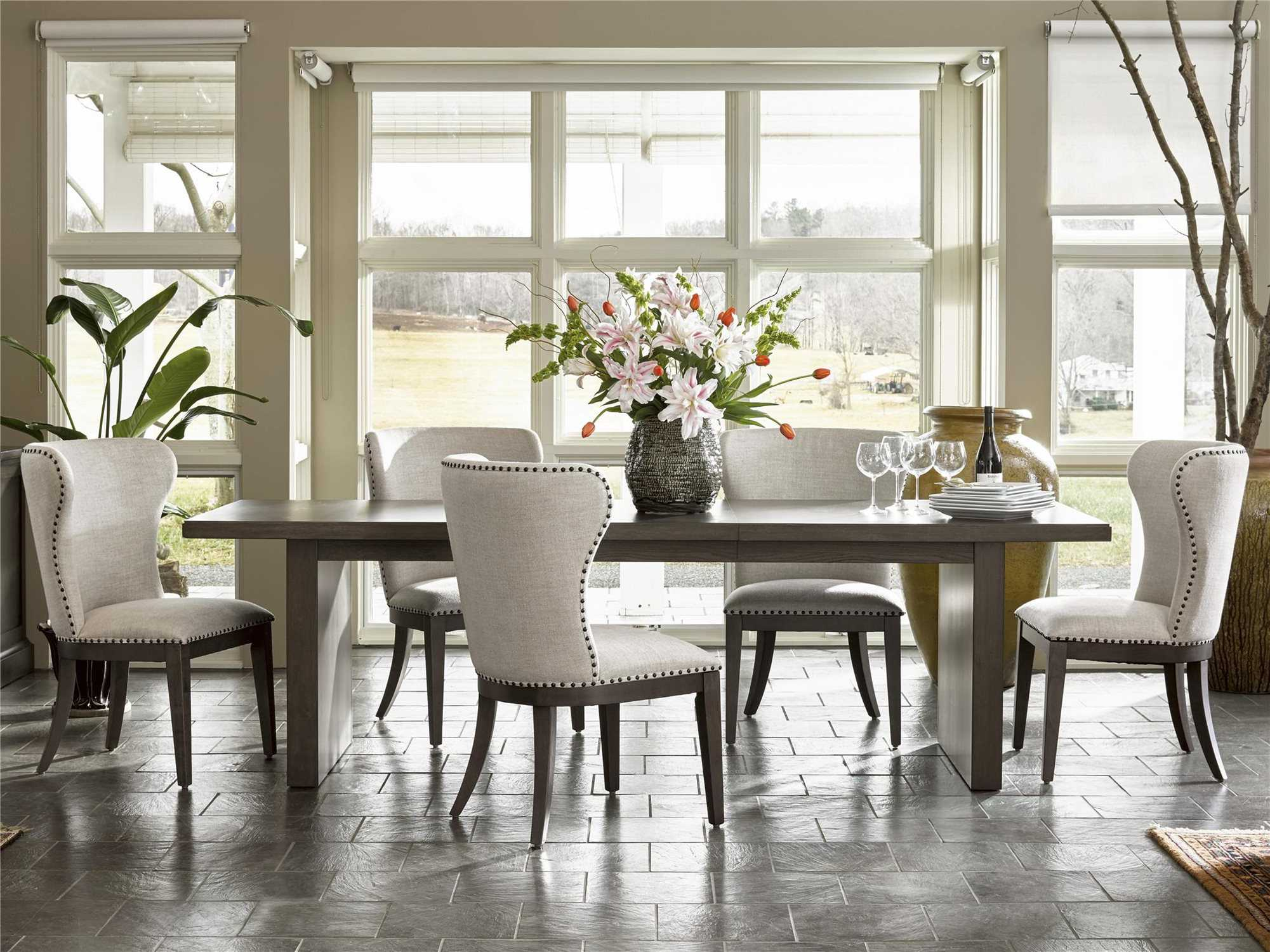 Universal Furniture Curated Graphite Baldwin Dining Side
