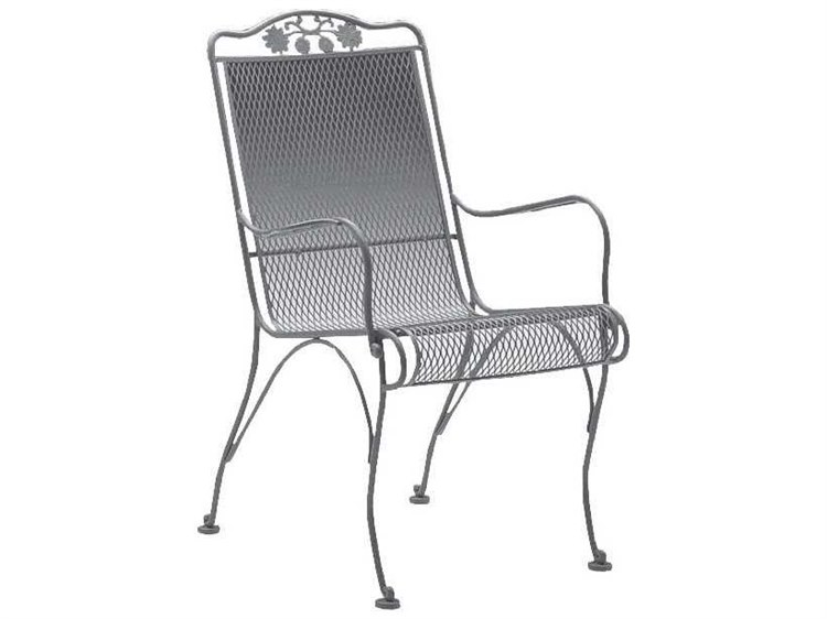 Woodard Briarwood High Back Dining Chair Seat Replacement