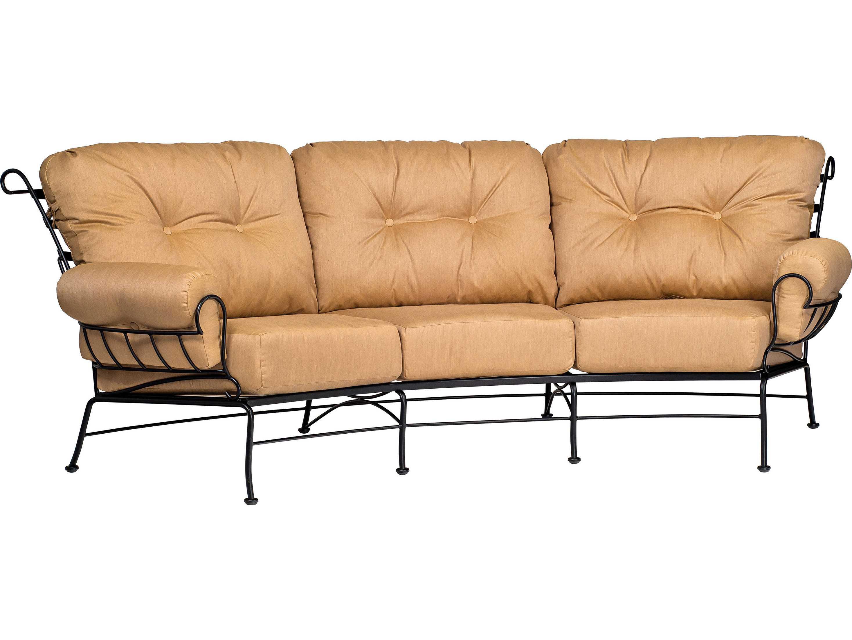 Woodard Terrace Crescent Sofa Replacement Cushions