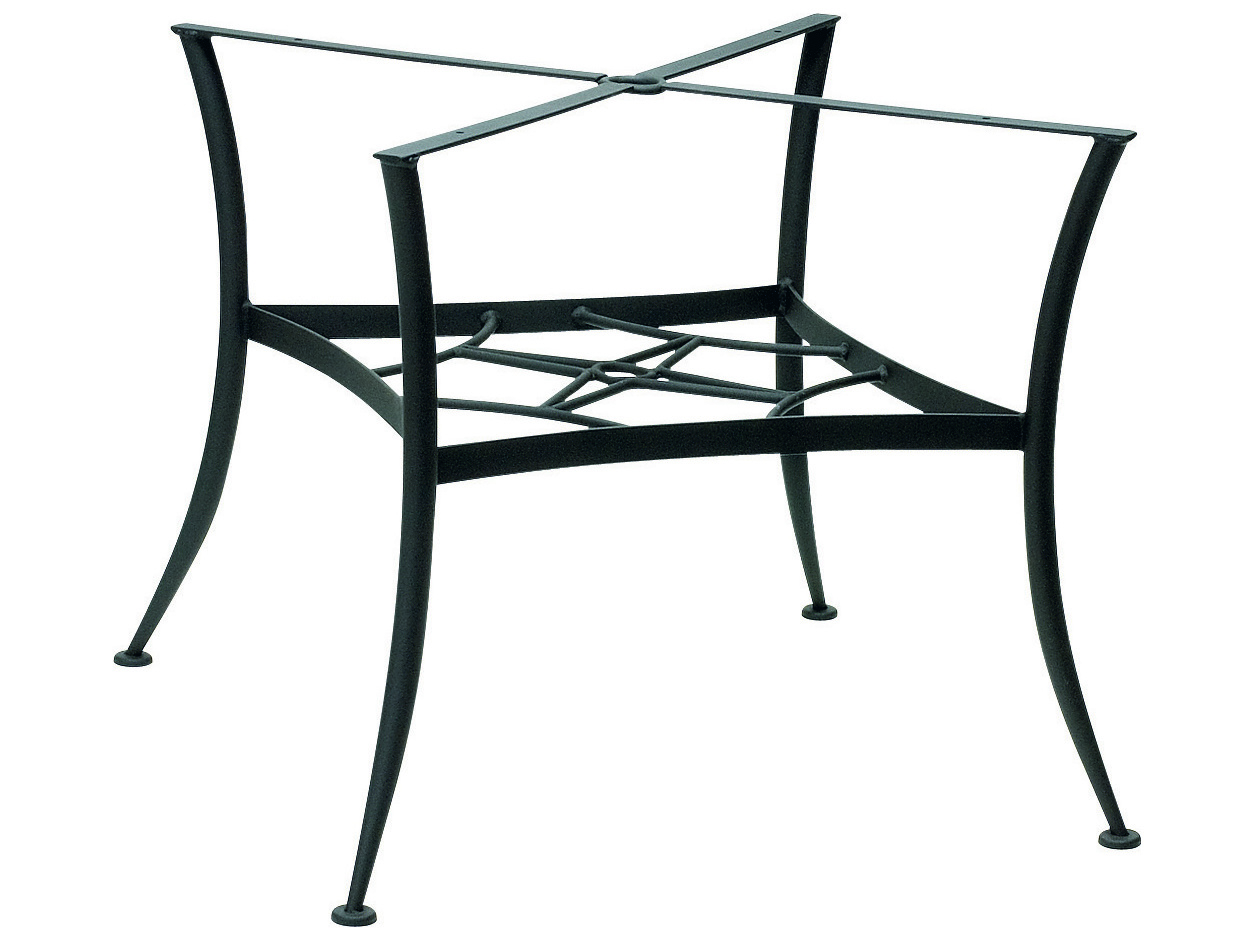 Woodard Universal Wrought Iron Dining Table Base Only