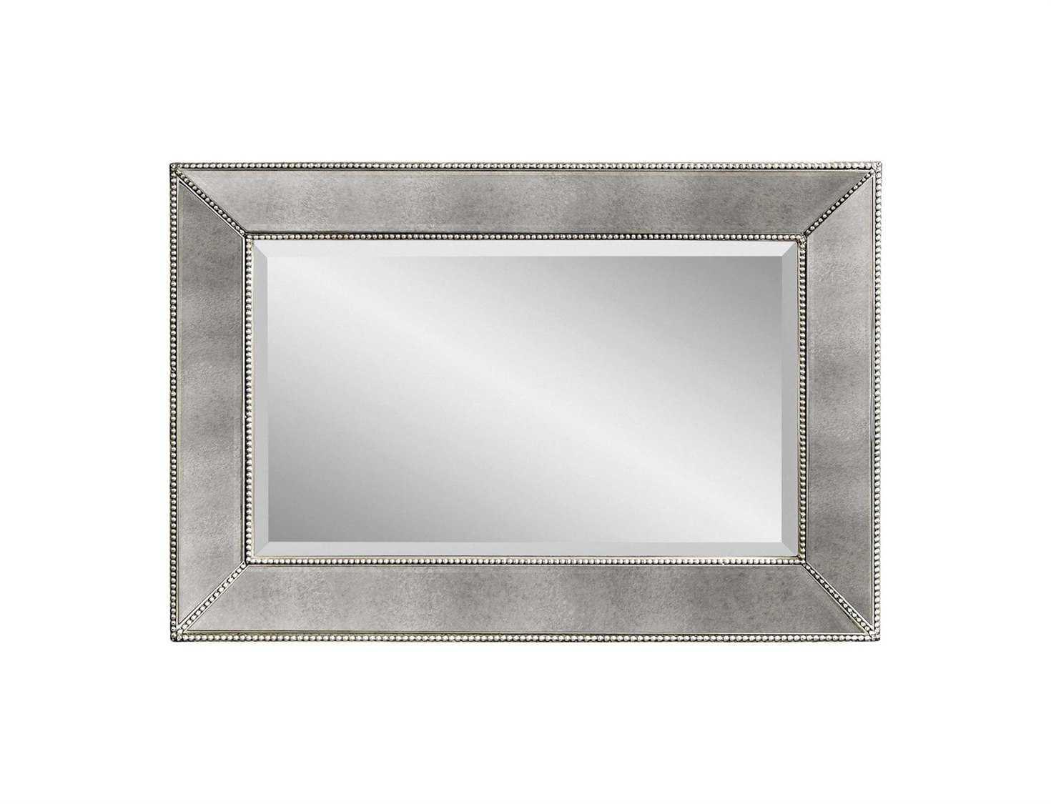 Bassett Mirror Hollywood Glam 36 X 24 Antique Silver