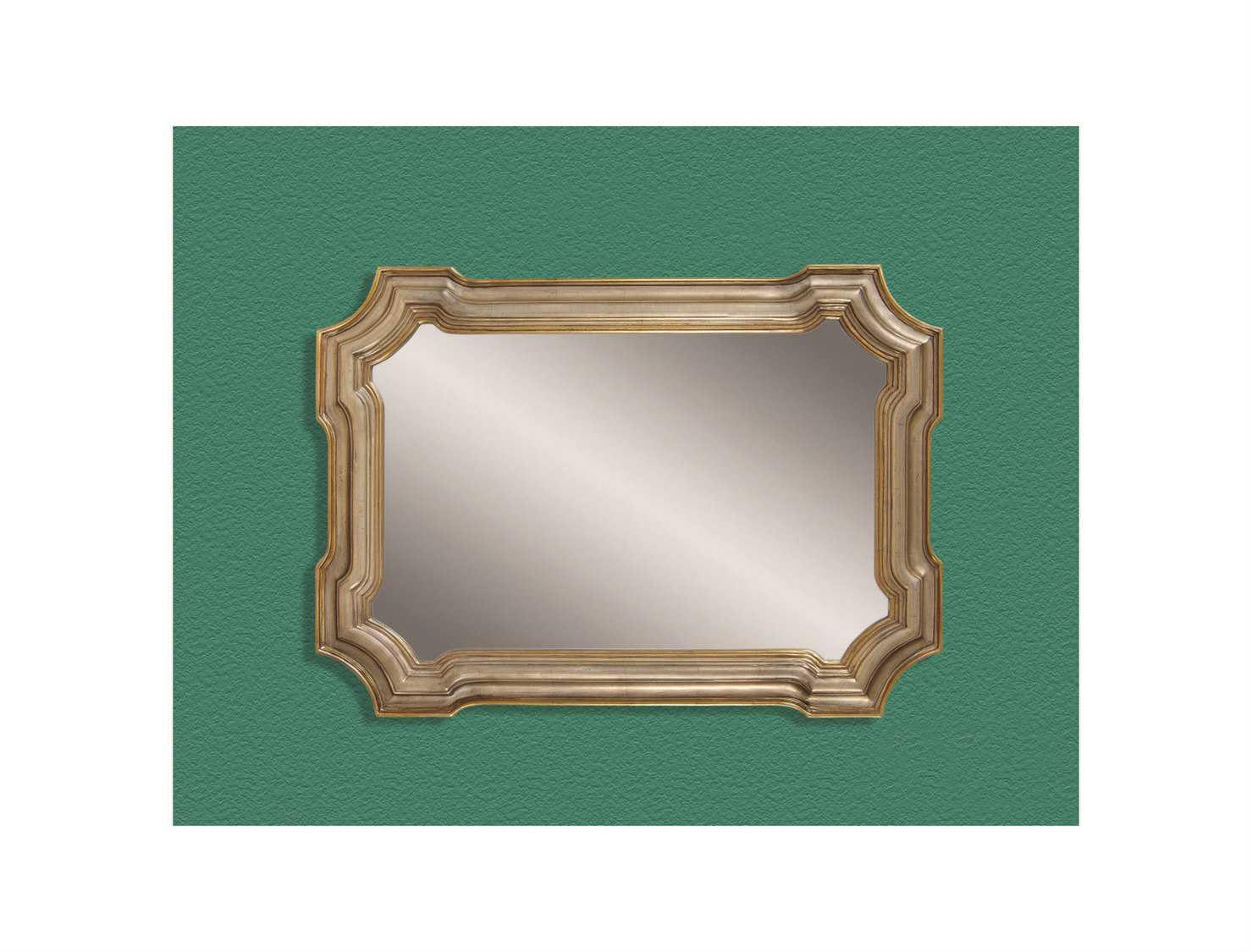 Bassett Mirror Old World 43 X 31 Silver & Gold Angelica