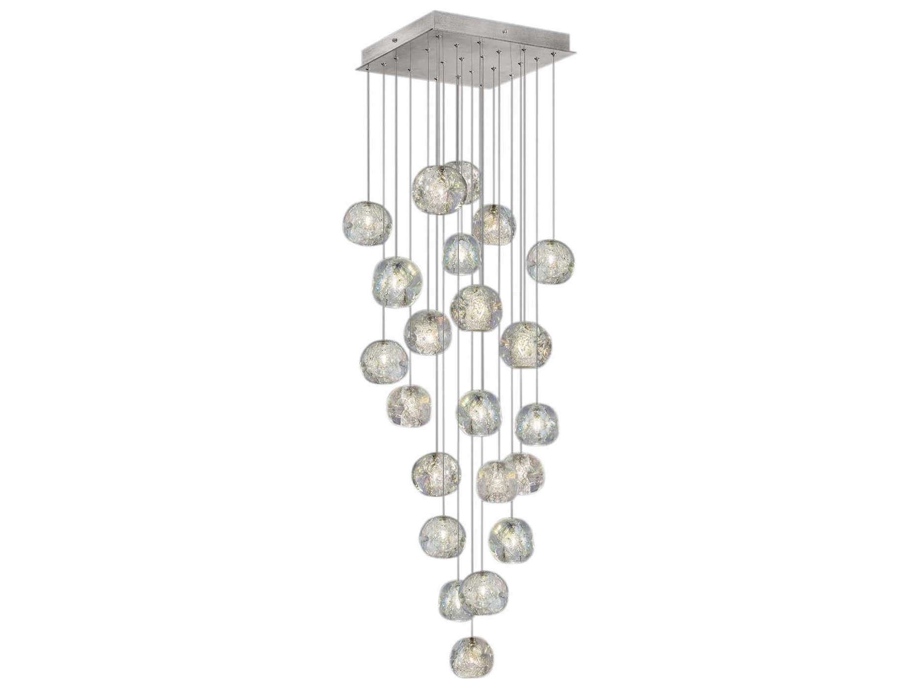 Fine Art Lamps Natural Inspirations Led Silver 24 Wide