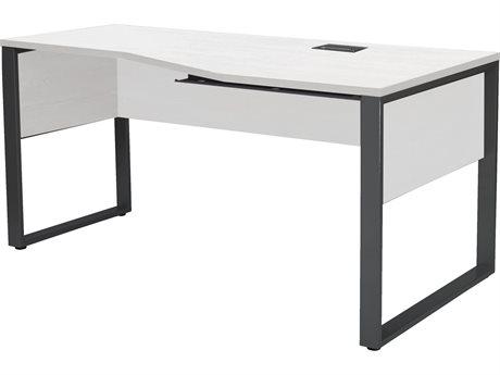 Unique Furniture Kalmar White Computer Desk K632432r Wh
