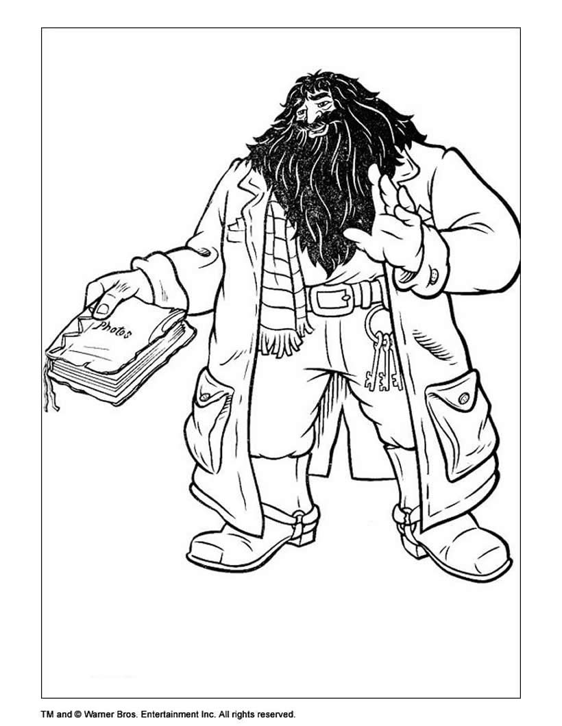 hermione granger coloring pages