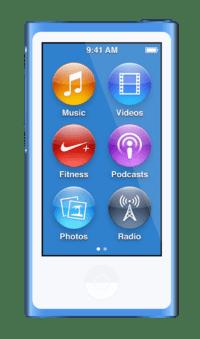 iPod Nano (7th gen 2.5'' Multitouch)