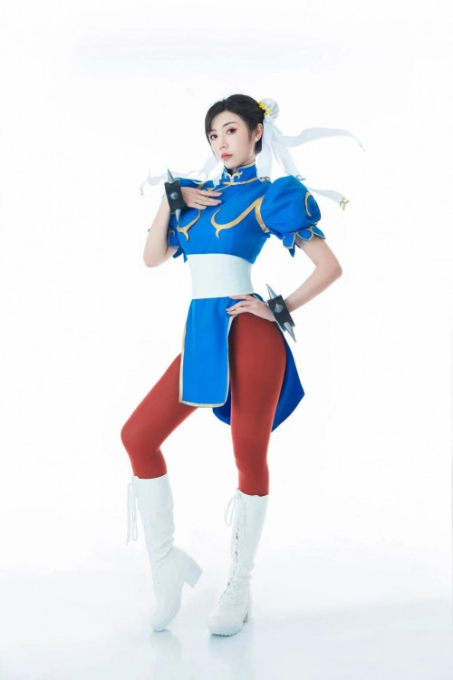 Realistic version of Chunli comes with hundreds of beautiful women fighting for beauty to satisfy your various imaginations
