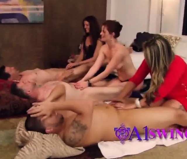 Swinging Massage Session In The Playboy Swing House Scene 12