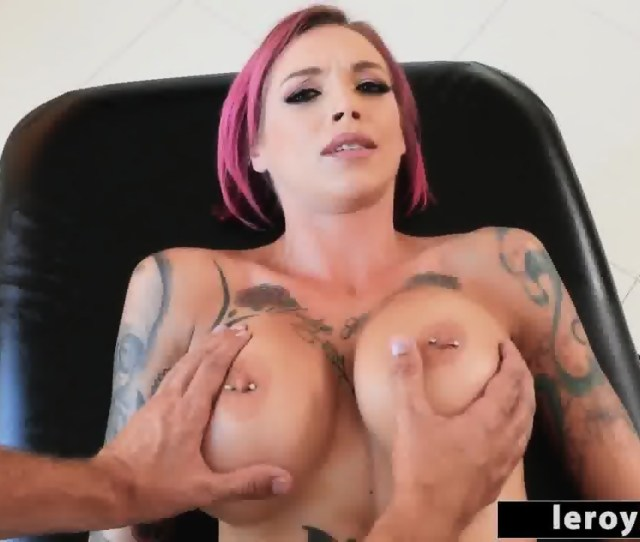 Anna Bell Peaks Get Cum All Over Her Face After Fucking Keiran Lee Scene 1