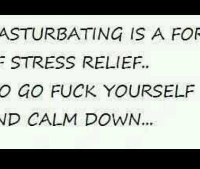Is Masturbation A Stress Reliever