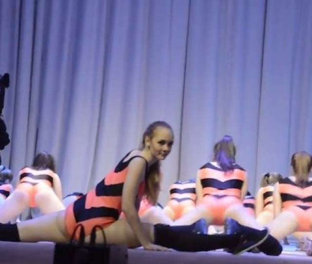 Russian Girls Twerking In Winnie The Pooh Outfits Spark Controversy Video