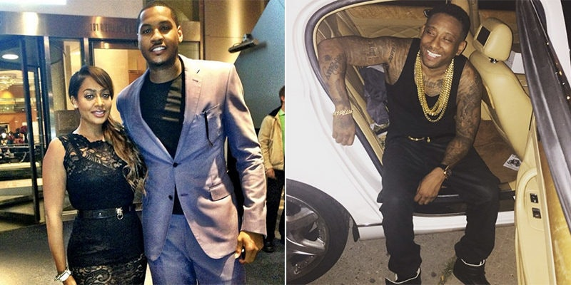 His And Carmelo Anthony Mother