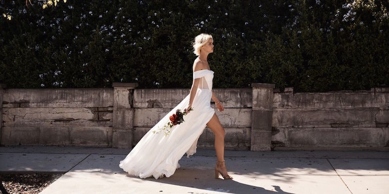 This Website Lets You Design Your Own Wedding Dress And