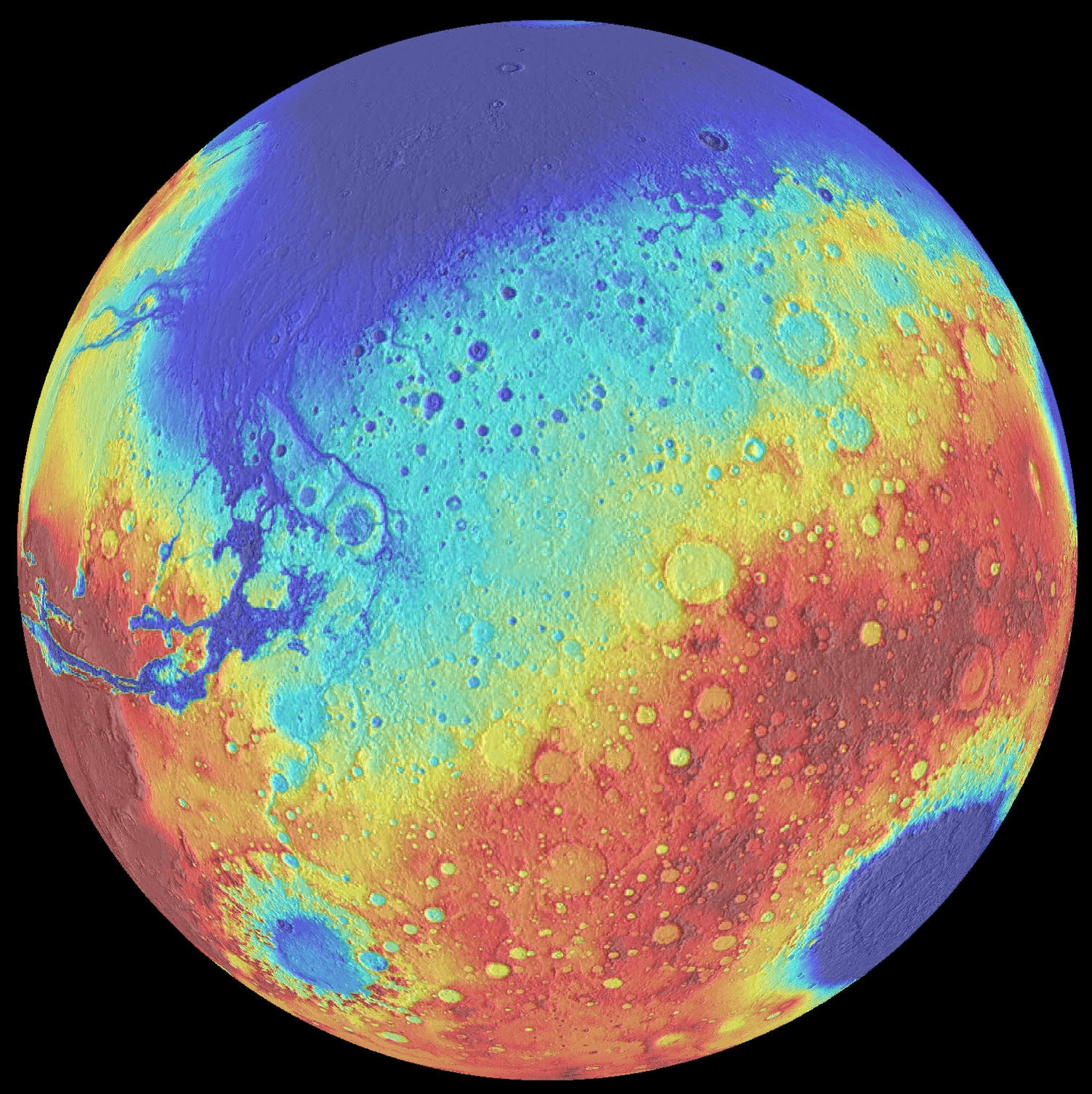 Mars' Craters Can Teach Us About the Evolution of the ...