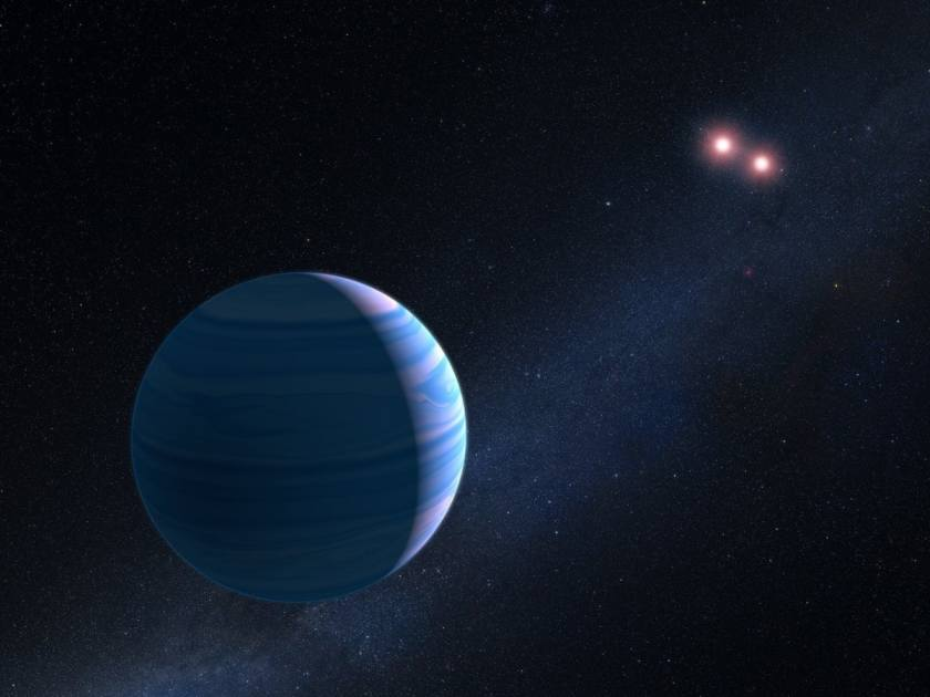 Hubble Telescope Finds Planet Orbiting Two Suns