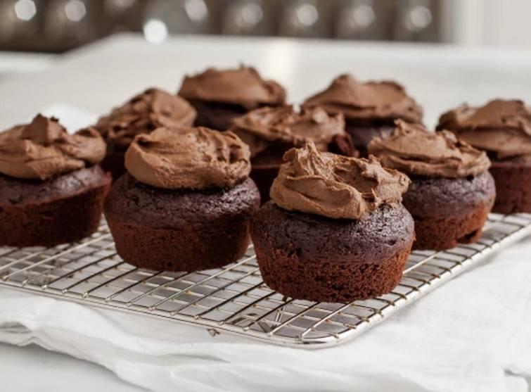 Love and Lemons' chocolate cupcakes sneak avocado into the recipe.