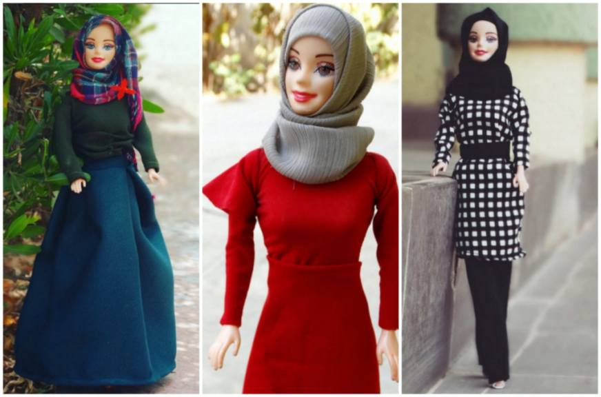 """Mattel (), which makes barbie, announced monday that the latest doll in its """"shero"""" This Hijab Barbie May Be The Cutest Style Star On Instagram"""