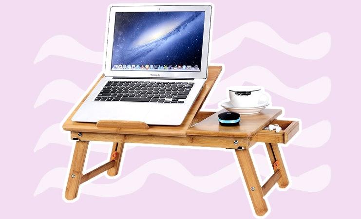 laptop cushion desk bed pillow