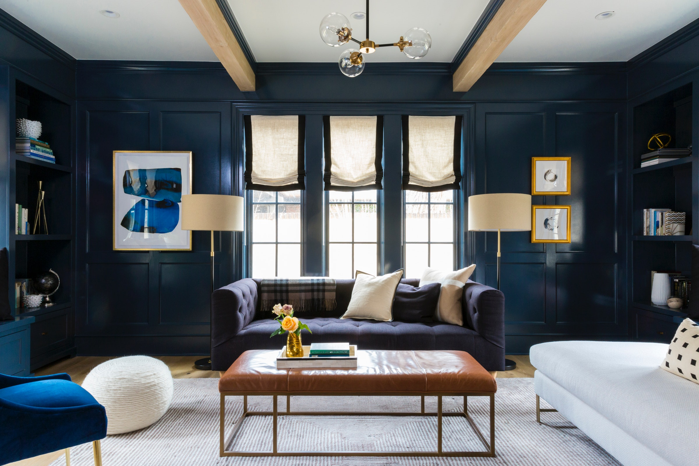 Picking An Accent Wall Color For Your Living Room Is Easier Than You Think Just Ask These Interior Designers