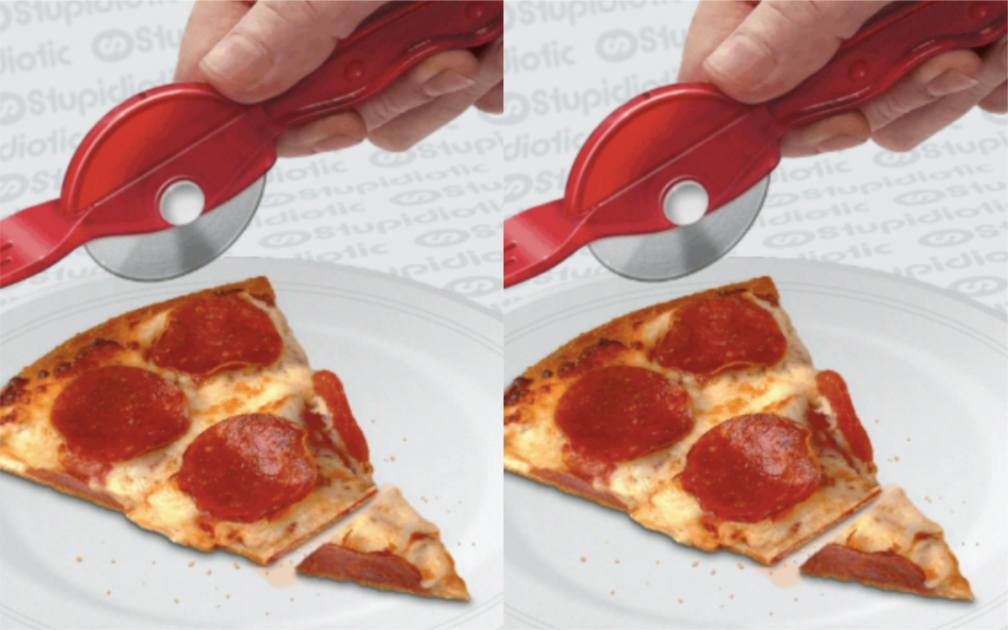 This Fork Pizza Cutter Hybrid Is A MustHave For All