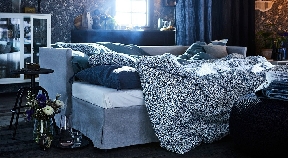 the ikea bedding set that looks way more expensive than it is