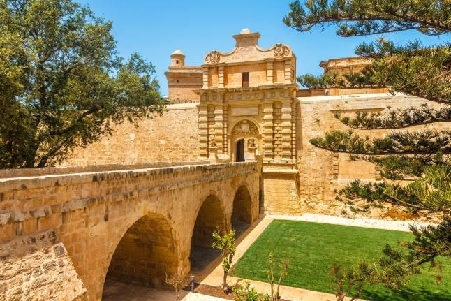 11. Mdina Gate, Malta