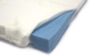 memory foam mattress topper gel bed pad