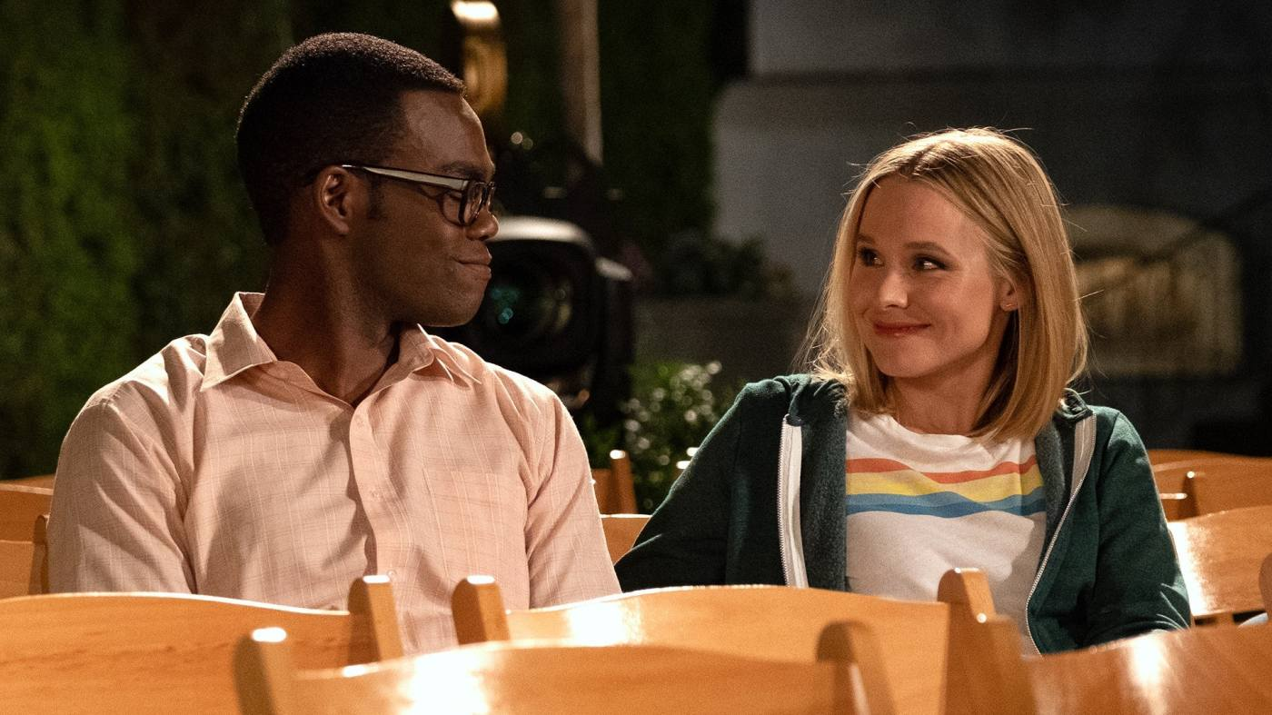 Image result for the good place chidi""