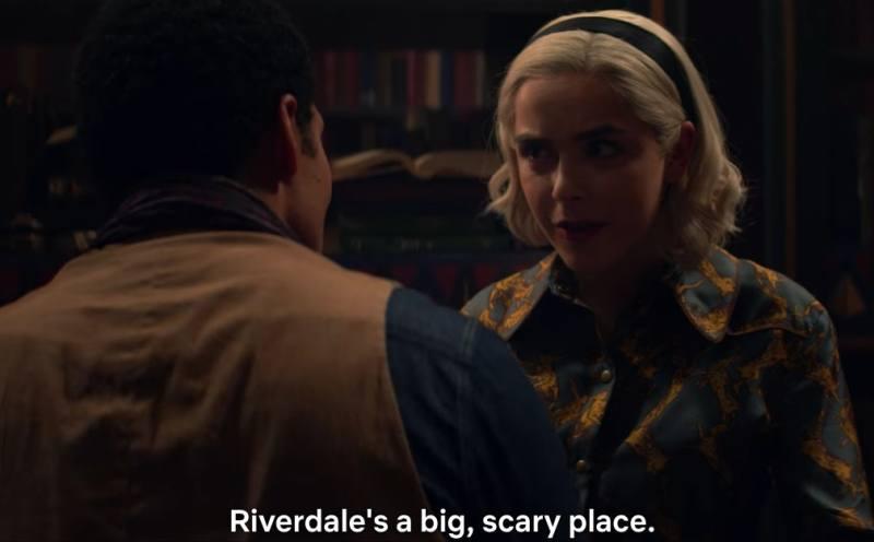 Sabrina visits Riverdale in 'CAOS' Part 3