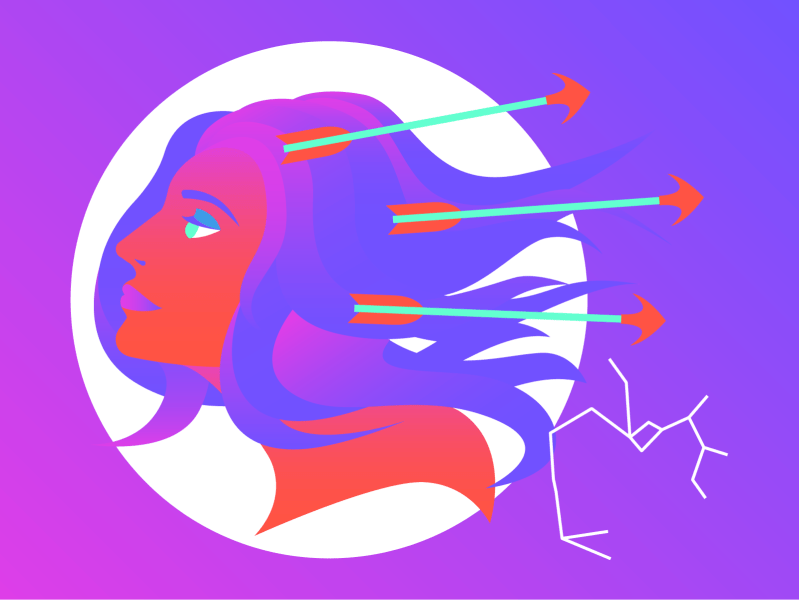 Sagittarius will feel deeply connected to their partner during the February full moon.