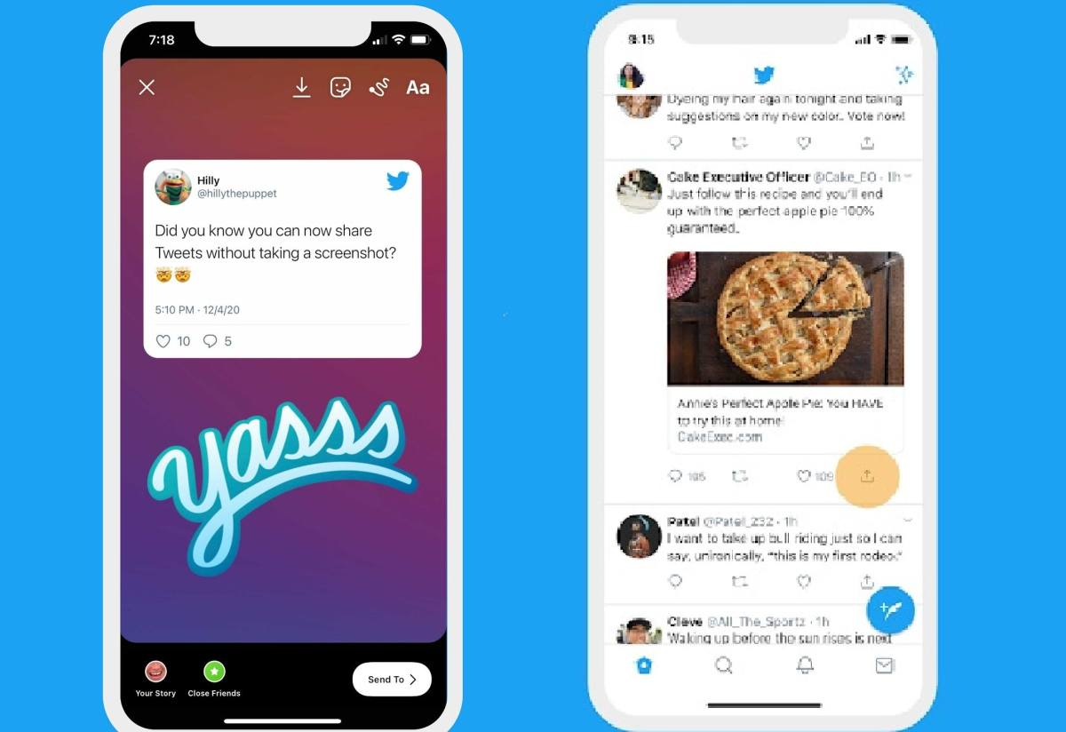 Can You Share Tweets On Instagram? There's Good News