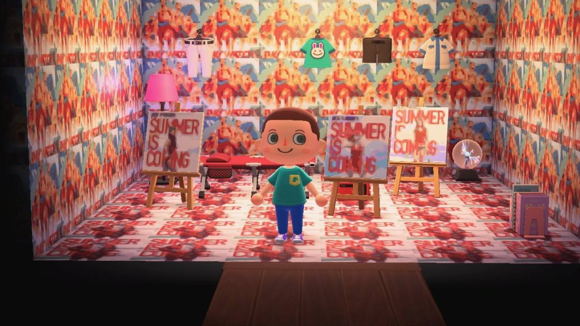 Boho Bedroom Animal Crossing on Animal Crossing Bedroom Ideas New Horizons  id=49844