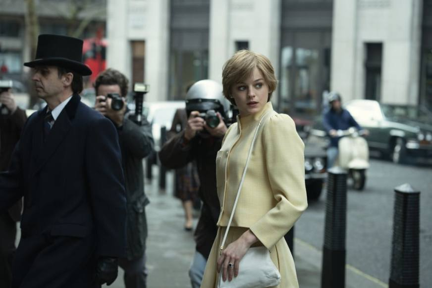 These Photos Of Emma Corrin As Diana In 'The Crown' Season ...
