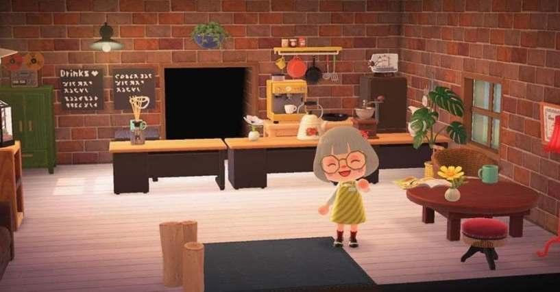 The 50 Coolest 'Animal Crossing' Room Designs We've Seen So on Animal Crossing New Horizon Living Room Ideas  id=19332