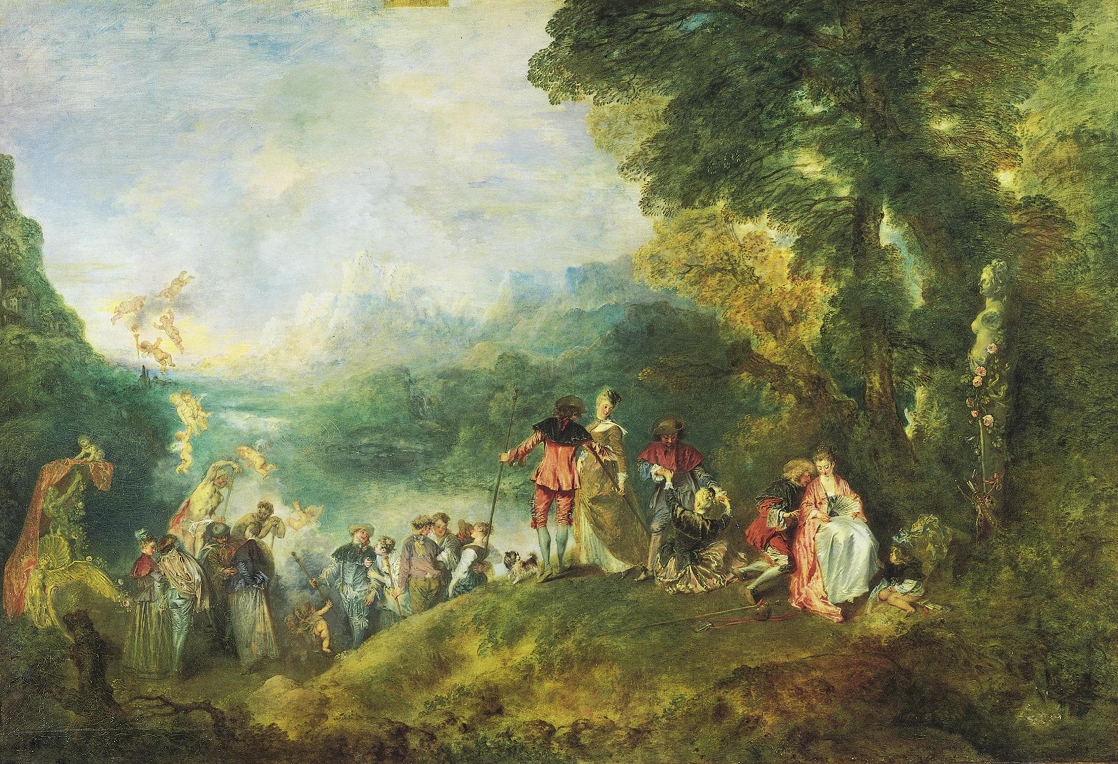 Popular Rococo Paintings   Famous Paintings from the Rococo Movement The Embarkation for Cythera is listed  or ranked  1 on the list Famous  Rococo