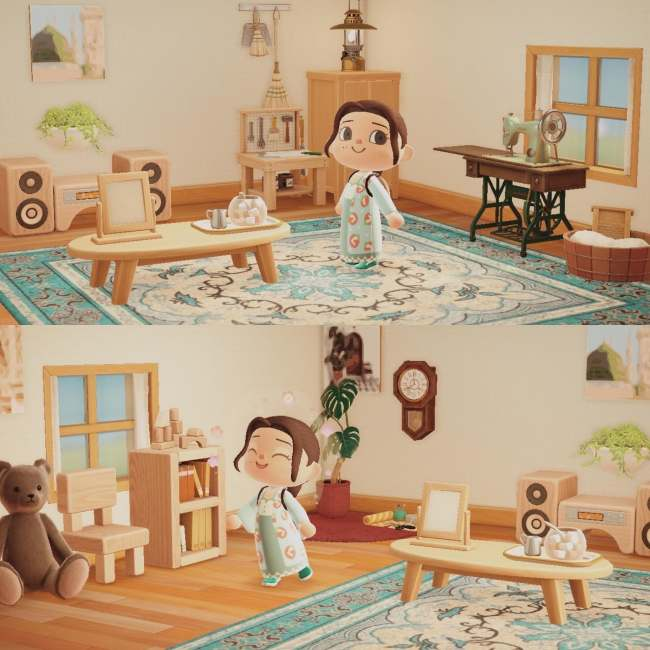 25 Creative 'Animal Crossing: New Horizons' House Designs on Animal Crossing Room Ideas New Horizons  id=14729
