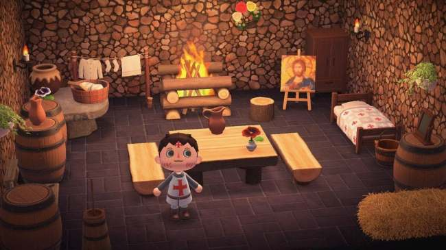 25 Creative 'Animal Crossing: New Horizons' House Designs on Animal Crossing Room Ideas New Horizons  id=15511