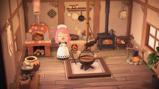 The 50 Coolest 'Animal Crossing' Room Designs We've Seen So on Animal Crossing Room Ideas New Horizons  id=11368