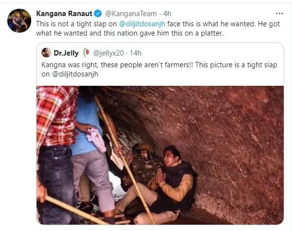 Twitter de Kangana Ranaut