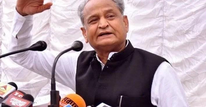 ashok gehlot orders audit of covid-19 deaths in rajasthan; 'cm creating atmosphere of fear', alleges bjp   india news