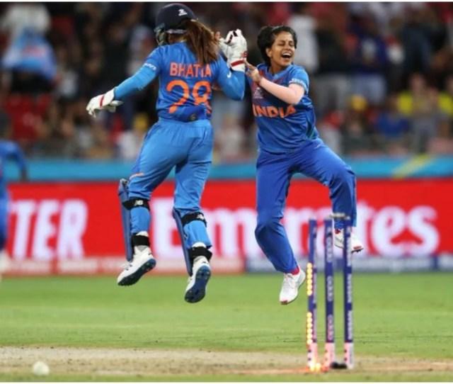 India Beat Australia By  Runs India W Vs Australia W Womens
