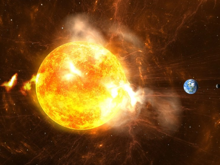 Solar storm today | Powerful solar storm heading towards Earth at speed of  1.6 million kmph, could disrupt cellphone signals