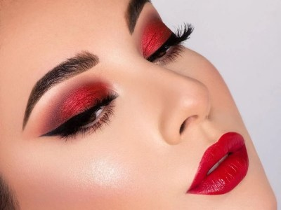 Christmas Party Makeup Tutorial For