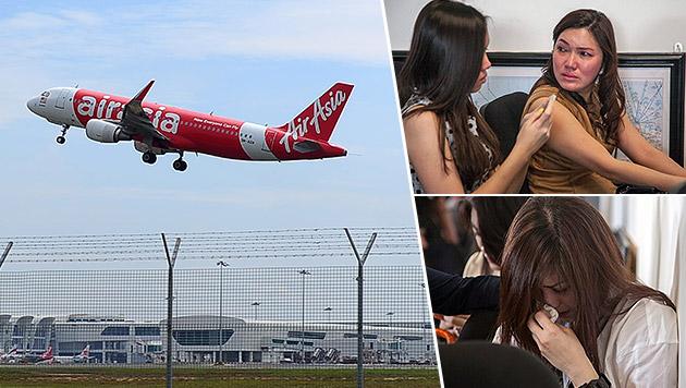 Flugzeug auf dem Weg nach Singapur verschwunden (Bild: AP, APA/EPA/FULLY HANDOKO)