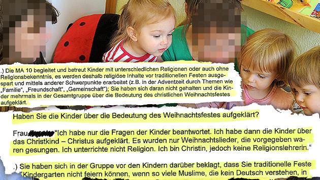 Pädagogin erklärt Kindern Weihnachten - gekündigt (Bild: dpa-Zentralbild/Waltraud Grubitzsch (Symbolbild), Krone)