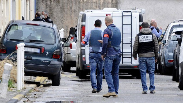 Frankreich: Zöllner bei Razzia in Toulon getötet (Bild: APA/AFP/Franck Pennant)