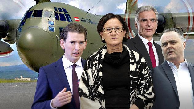 Österreich schiebt jetzt 50.000 Asylwerber ab (Bild: Bundesheer/Tokunaga, APA/SCHERIAU, APA/PFARRHOFER, AFP)