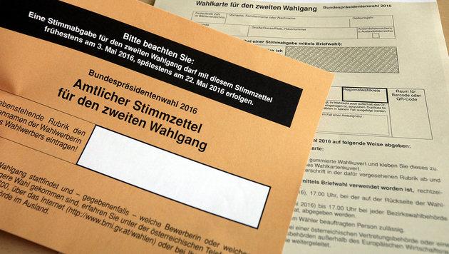 Wahlkarten: Ministerium bringt Anzeigen ein (Bild: APA/GEORG HOCHMUTH)
